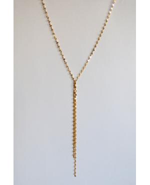 Naszyjnik ze srebra złoconego